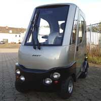 elektrofahrzeug friesenscooter 2 sitzer 2 t ren. Black Bedroom Furniture Sets. Home Design Ideas